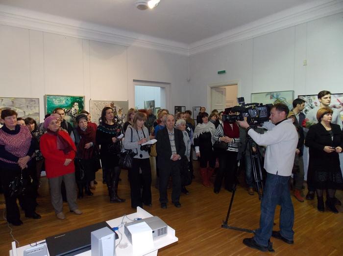 Открытие выставки, посвящённой памяти художника, вызвало огромный интерес