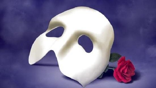 Призрак оперы - маска