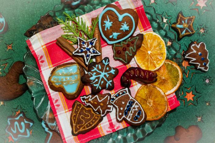 Шаг 16 Красиво подаем печенье на стол