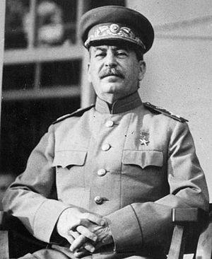 Сталин 1943 год. Источник: wicimedia.org