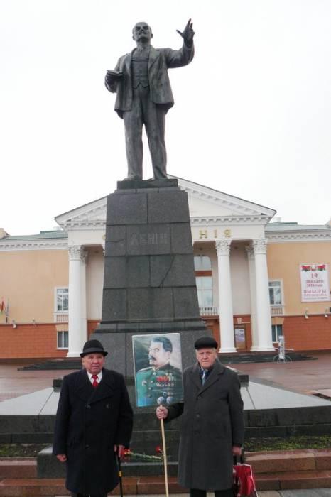 Сталин и Ленин с нами