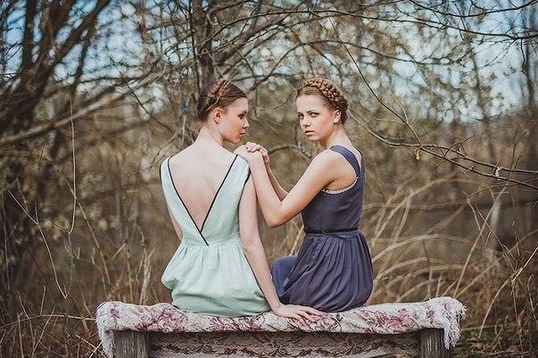 """Модели из коллекции """"Усадьба"""" Ирины Юрченко. Фото Александра Кузьмина"""