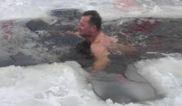 Зимний пловец