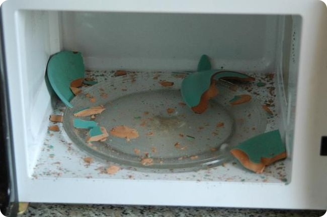 Железные тарелки не взрываются!