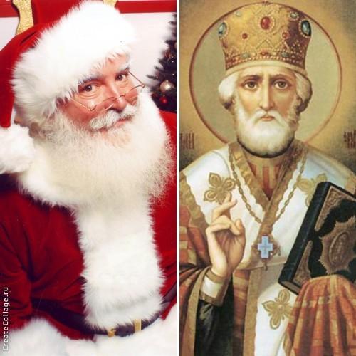 Чем могут быть похожи Санта-Клаус и святой Николай?