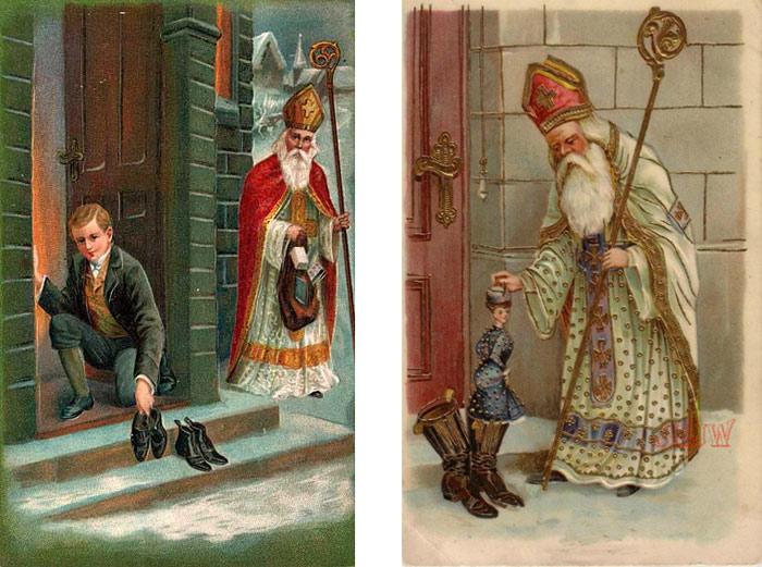 Святой Николай в традиционном наряде. Источник materinstvo.ru