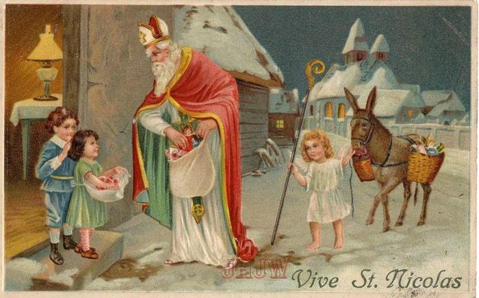 Святой Николай с детьми. Источник materinstvo.ru