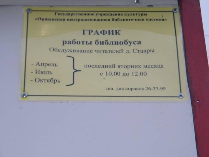 Библиобус раз в неделю приезжает в деревню. Фото Николая Петрушенко
