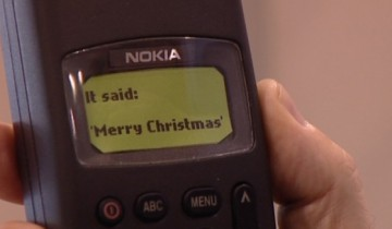 first-sms-Merry-Christmas