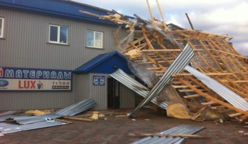 Крыша заблокировала выход