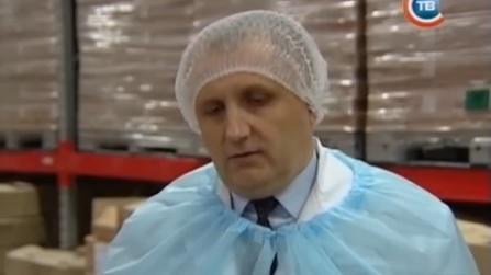 Сергей Качанов. Скриншот сюжета телеканала СТВ