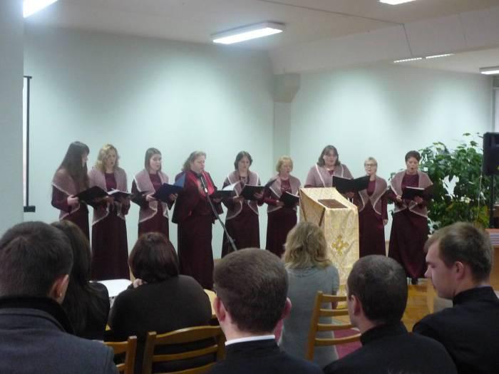 Выступление женской вокальной группы «Благо»