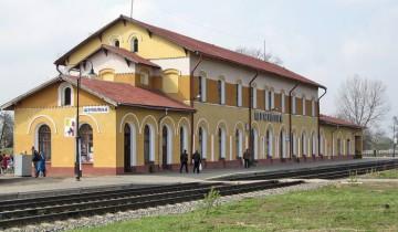 Железнодорожный вокзал Шумилино. Фото railwayz.info