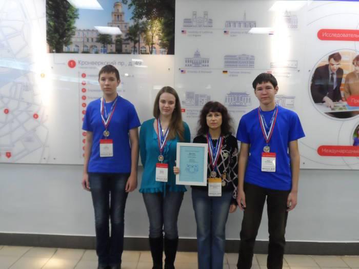 Витебск может гордится такими школьниками