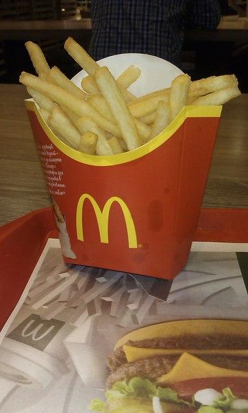 Картофель из Макдональдса - американский рецепт, белорусский продукт