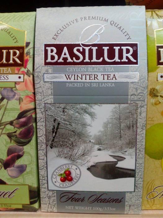 """Basilur """"Winter Tea"""" в бюджетной упаковке найден мной в ТЦ """"Беларусь"""""""