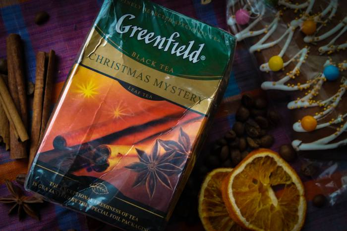 """Для Greenfield """"Christmas mystery"""" всегда есть место и в моей коллекции пряных чаев"""