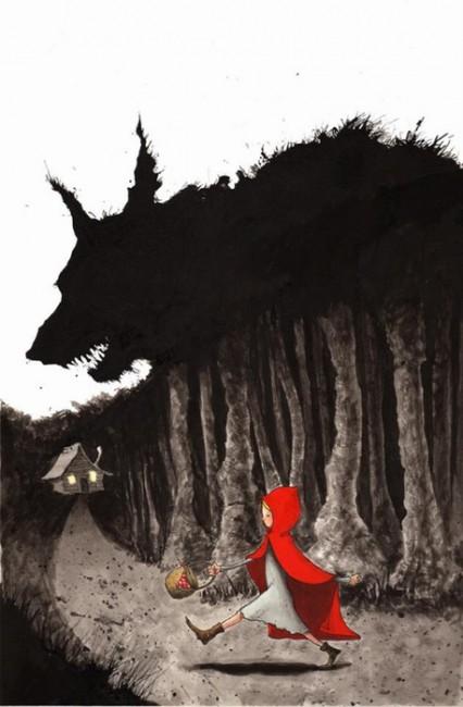 Отправлять ребенка в темный лес нельзя! Источник: liveinternet.ru