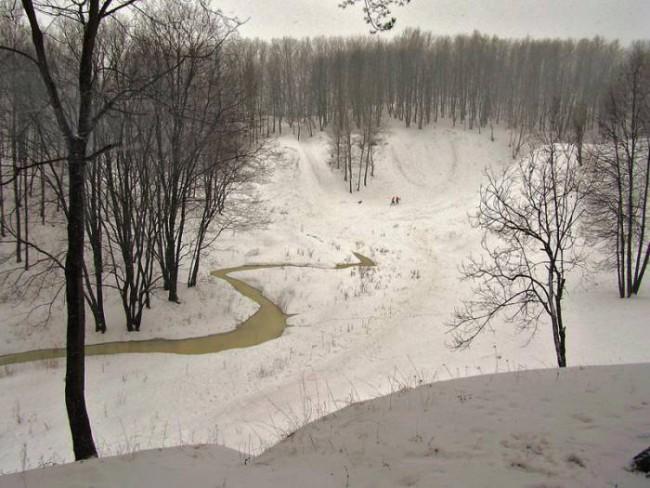 Юрьева горка зимой. Фото Виктора Атапина