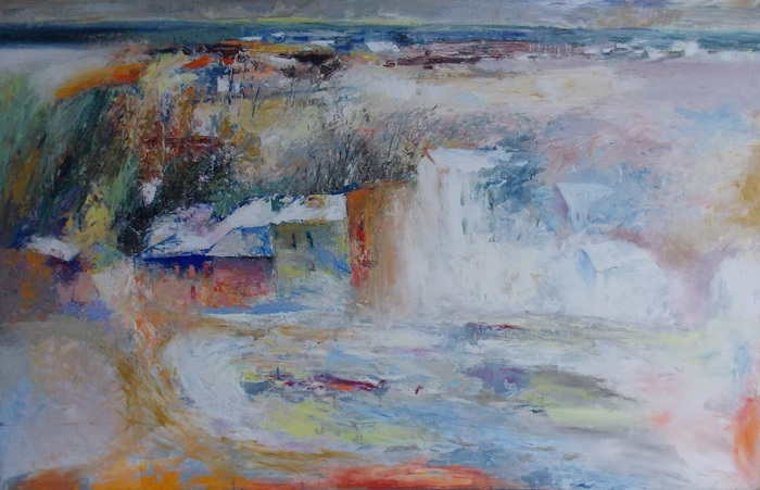 Андрей Войтеховский. Утро в городе. 2008 г.