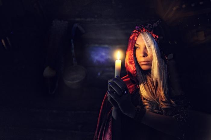 Антон Герасимов. Портрет ведьмы. Источник: fotonostra.ru