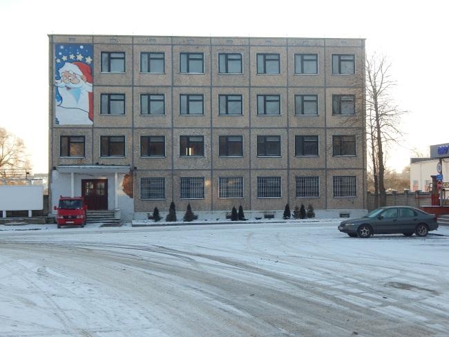 Пустующее здание заводоуправления