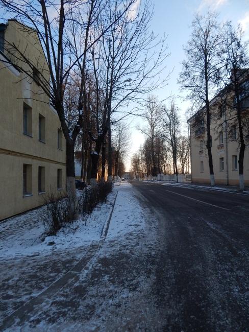 Переулок в честь Стаханова на окраине Витебска