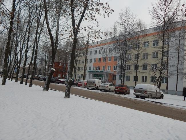 Поликлиника до сих пор носит имя Ленина