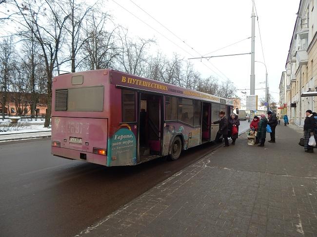 Отсюда автобус №28 начинает путь