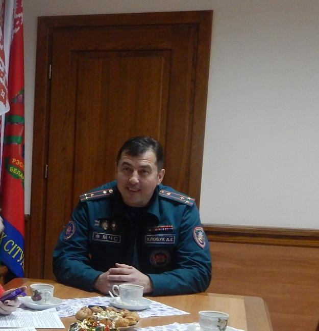 Александр Клобук отвечает на вопросы журналистов