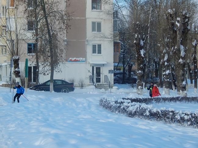 снег 2016
