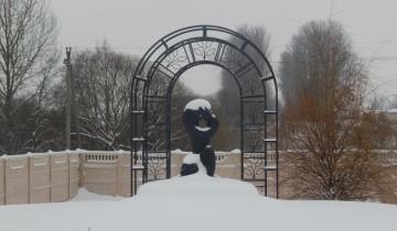Памятник евреям в Иловском овраге