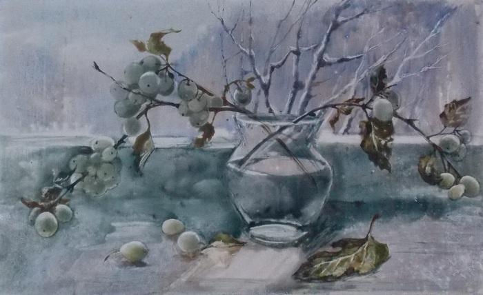 Наталья Белоокая. Зимний натюрморт. 2007 г.