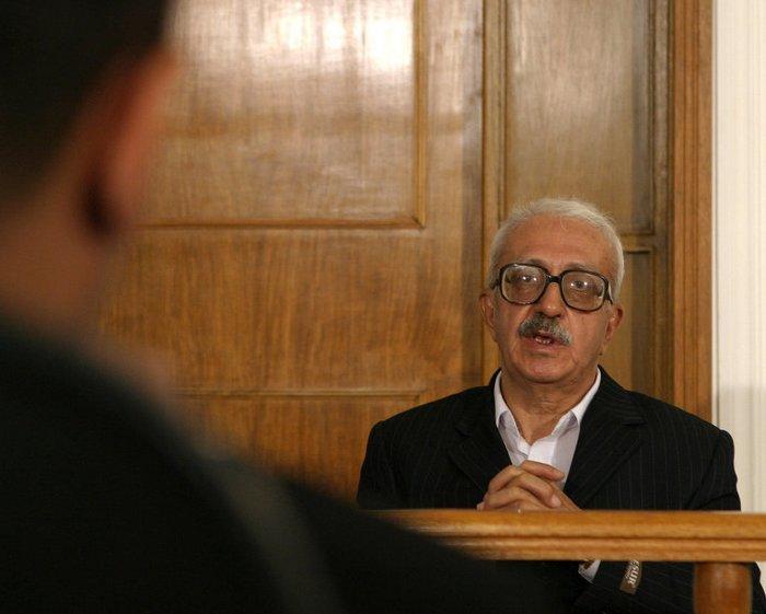 Тарик Азиз во время судебного процесса в 2004 году. Источник: ria.ru