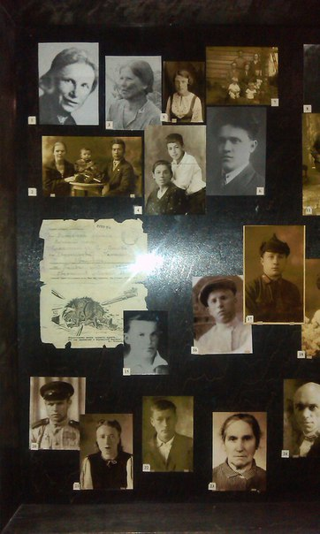Стенд, посвященный Вере Хоружей и ее соратникам по борьбе в Витебском краеведческом музее