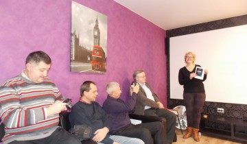 Вручение дипломов на заседании Витебского филиала «Белорусской ассоциации журналистов»