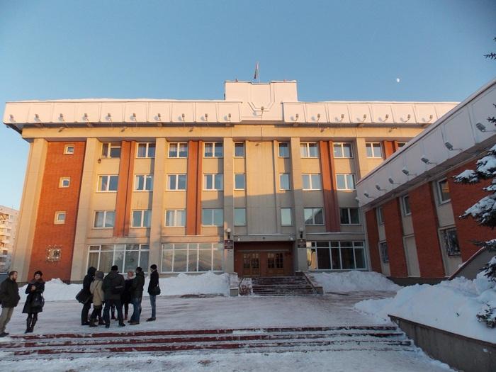 Здание администрации Октябрьского района г. Витебска
