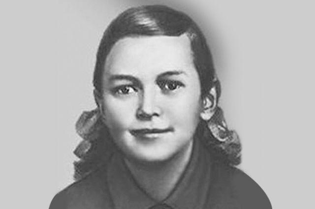 Зина Портнова осталась вечно юной. Источник: artyushenkooleg.livejournal.com