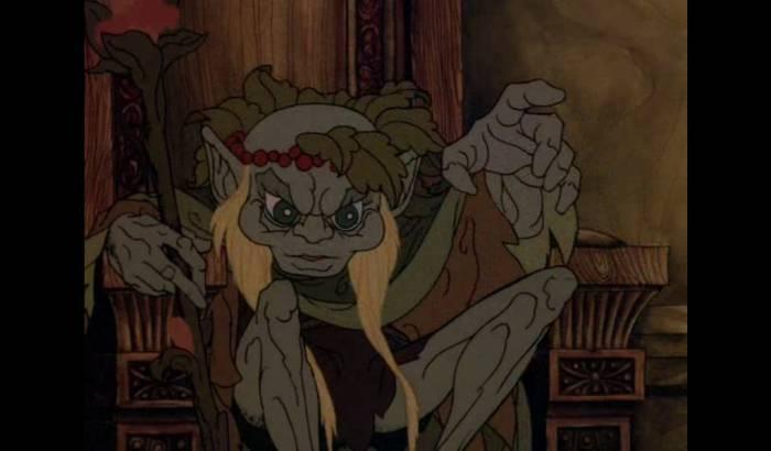 Так, например, выглядели эльфы в мультфильме 1977 года