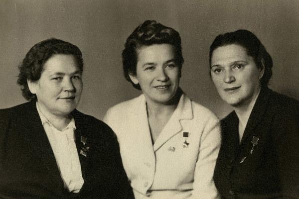 Мария Осипова, Надежда Торян и Елена Мазаник. Источник: rg.ru