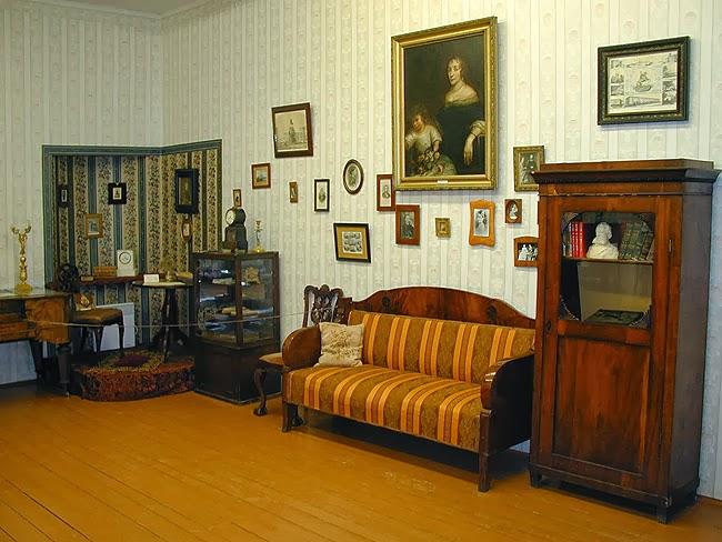 интерьры музея