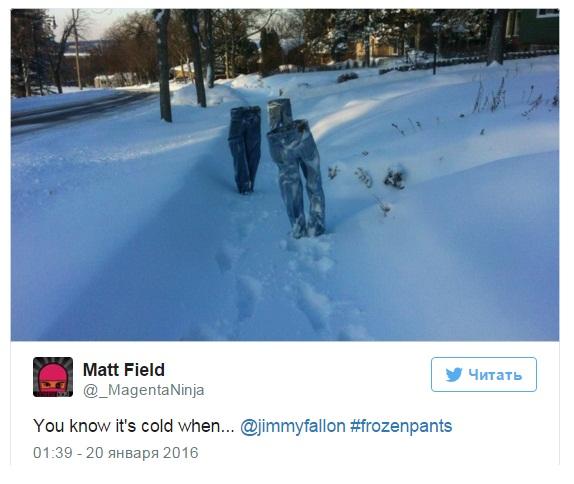 """Подпись под фото: """"Ты понимаешь, что холодно, когда..."""""""