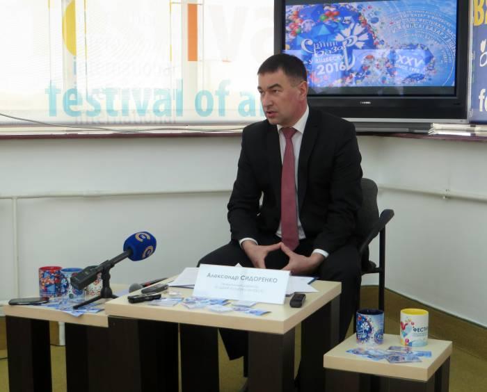 Директор фестиваля Александр Сидоренко. Фото: Аля Покровская