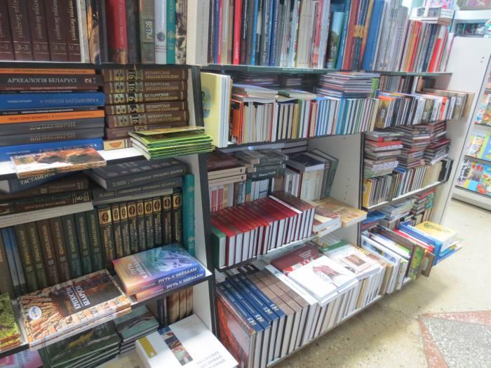 В магазине «Глобус». Фото: Аля Покрвоская