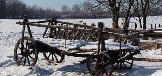 Готовить сани нужно летом, а телегу - зимой. Фото avega.net