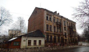 Дом№28 по улице Комсомольской. Фото Евгении Москвиной