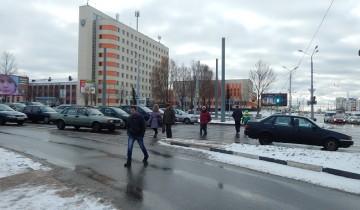 переход в конце Московского проспекта