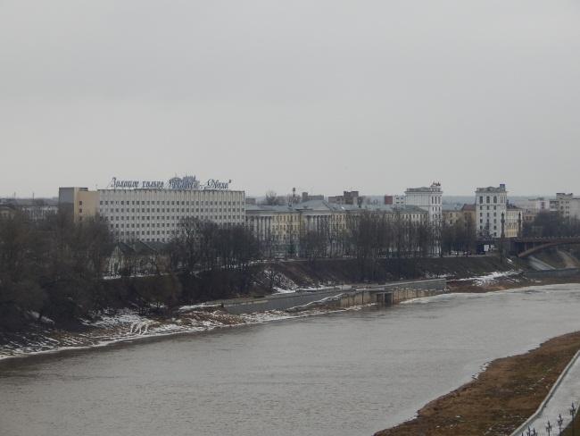 ледоход, Западная Двина