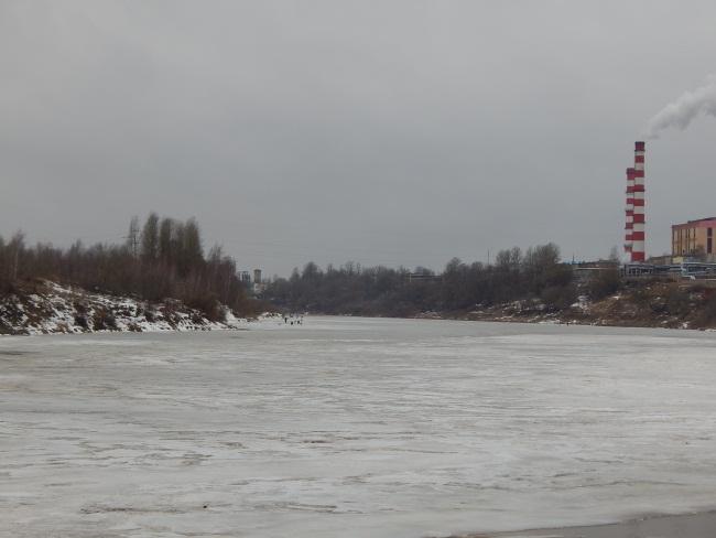 лед, западная Двина