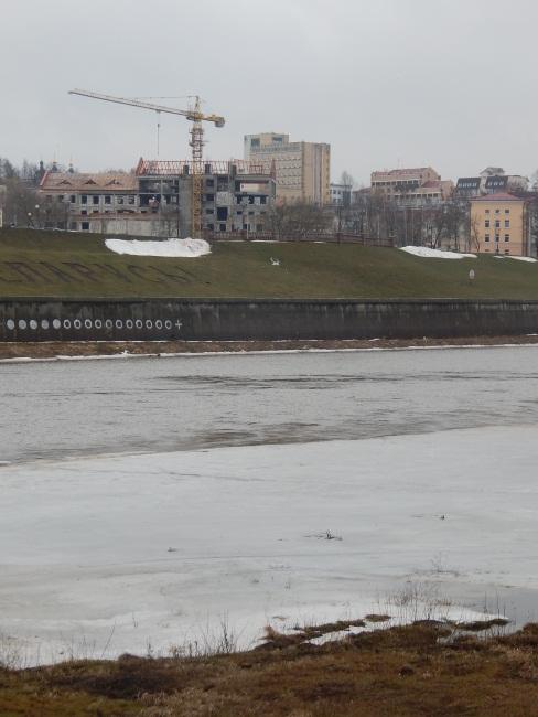 лед, Кировский мост